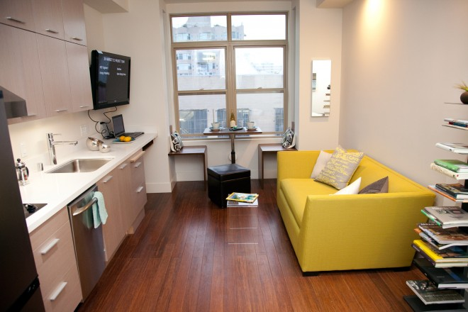 Microapartments Home In 400 Square Feet Or Less