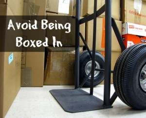 Avoid Being Boxed In - moving safety