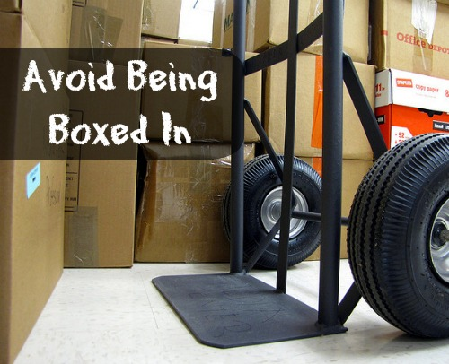 Avoid Being Boxed In