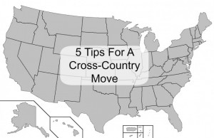5 Tips for a Cross Country Move