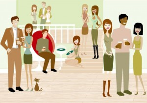 Housewarming Party Crowd (Blog 13)